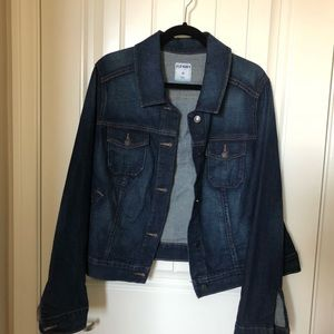 Old Navy Dark Wash Jean Jacket - 2XL
